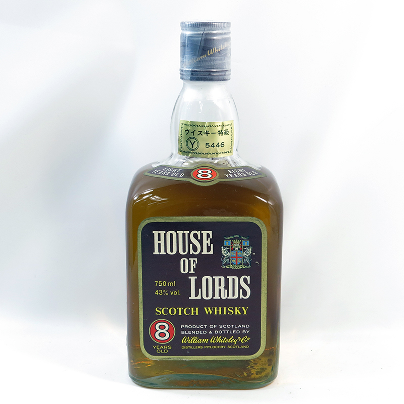 イギリス上院議会のためのウイスキー【ハウス・オブ・ローズ】